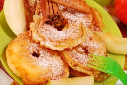 ricetta frittelle di bucce di mela