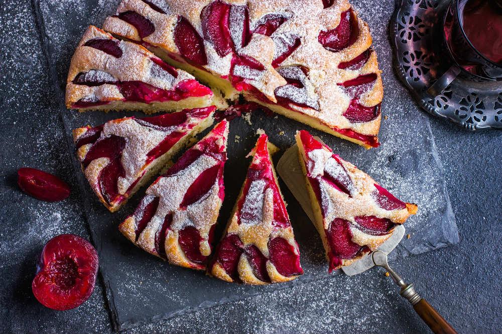 ricetta torta di prugne