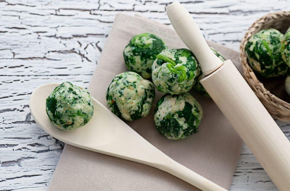 ricetta polpette di spinaci