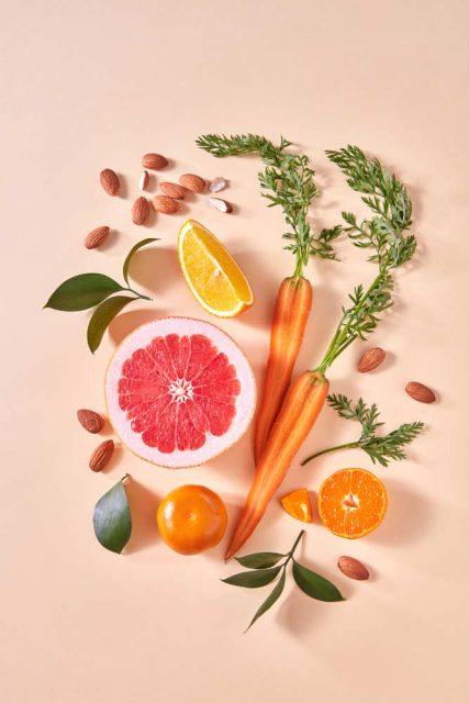 ricetta torta bio carote e pompelmo