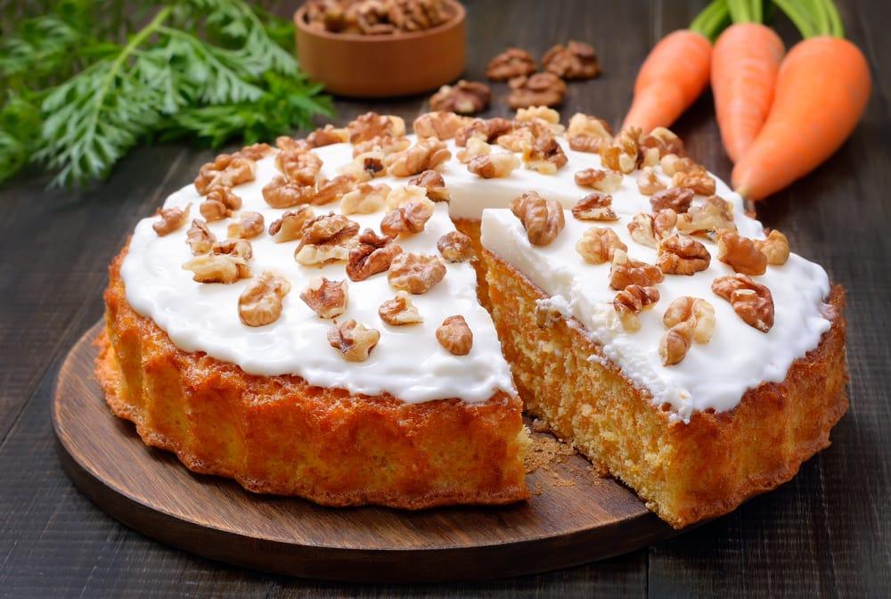 ricetta torta bio di carote e pompelmo