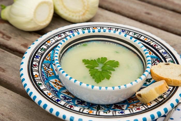 ricetta zuppa di finocchio