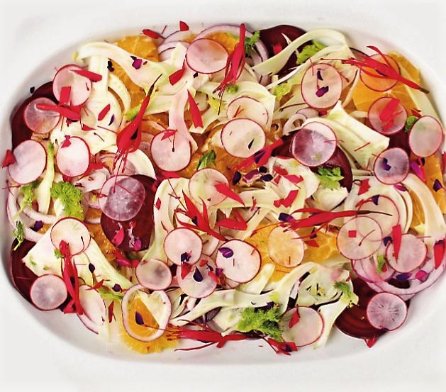 ricetta insalata di ravanelli