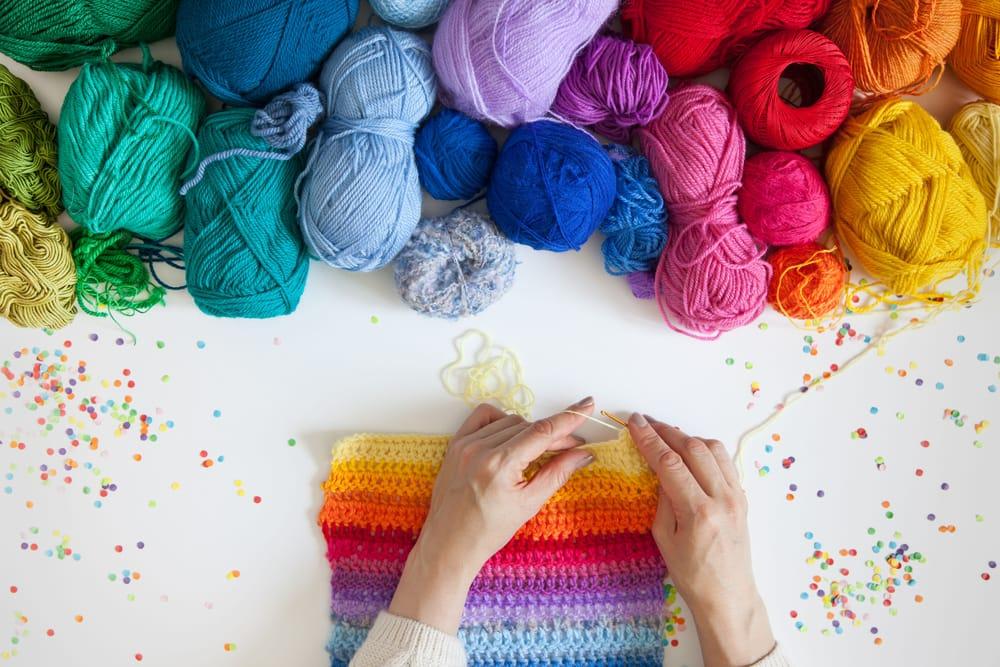 come lavorare a maglia