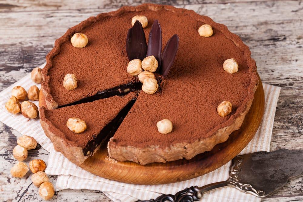 ricetta torta con nocciole