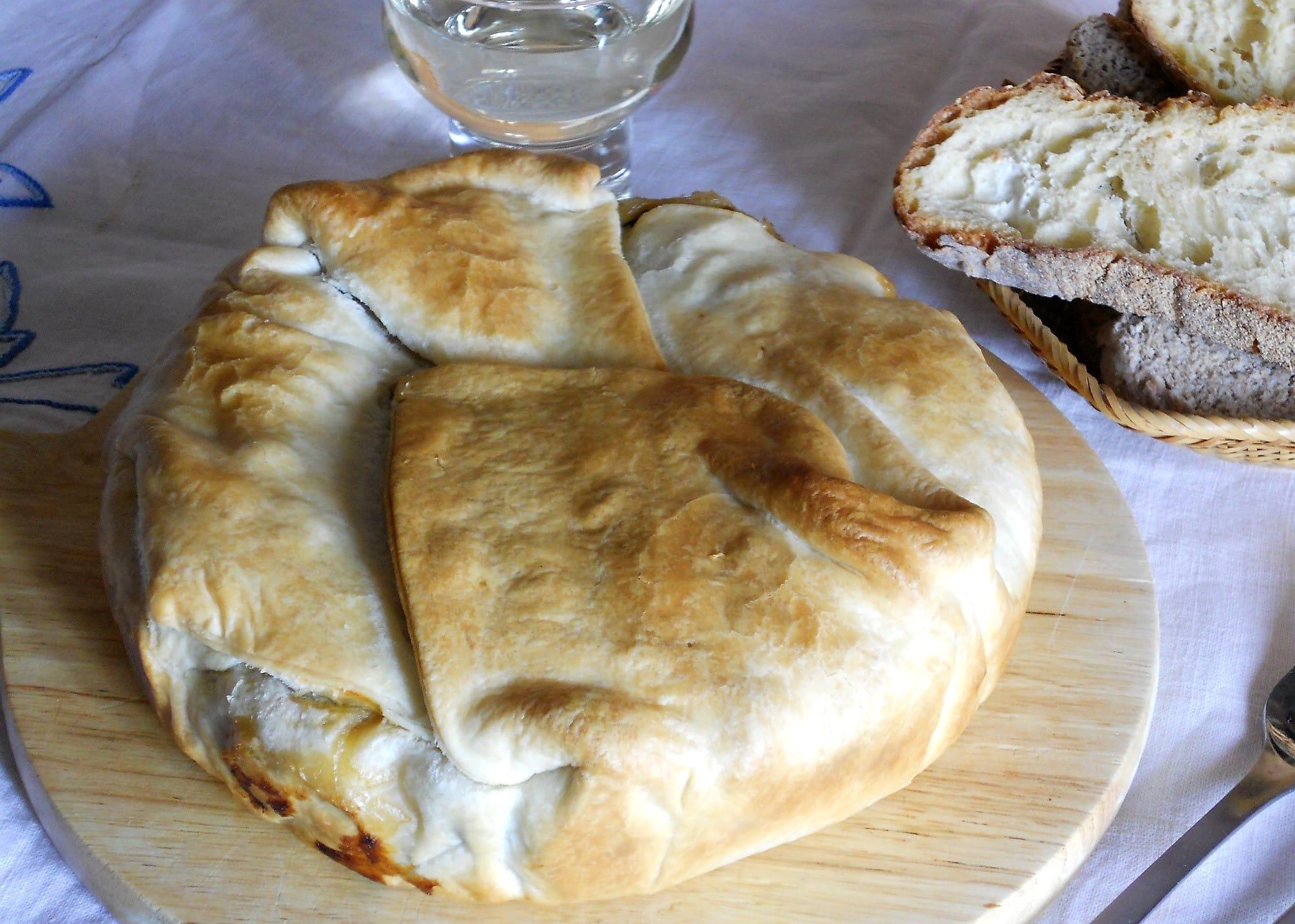 ricetta caponata in crosta di pasta sfoglia
