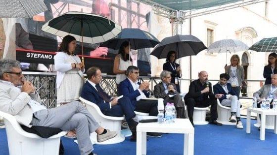 ragazze ombrello
