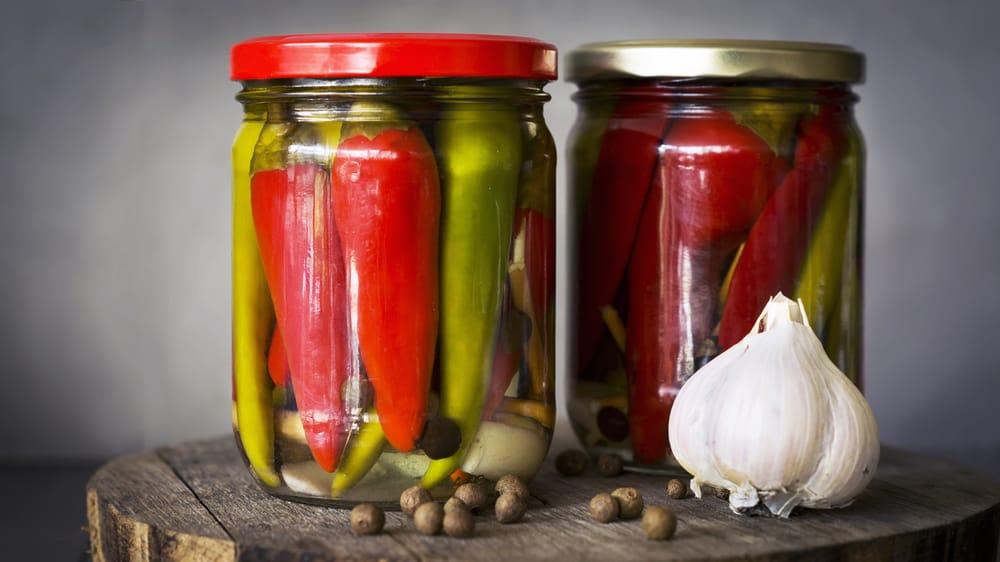 ricetta peperoncini sott'olio