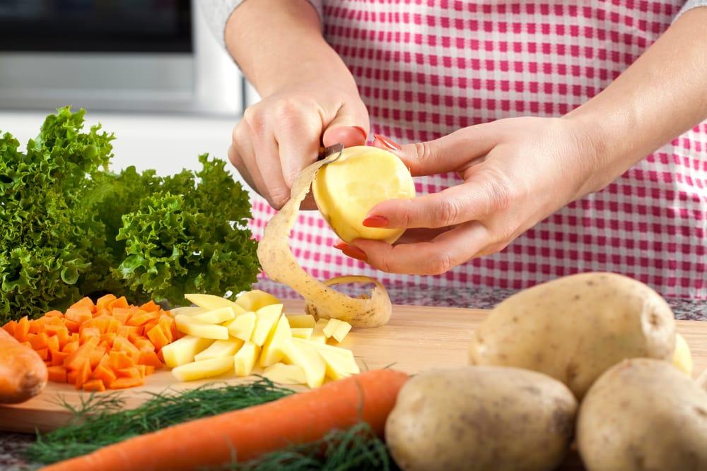 come sbucciare le verdure