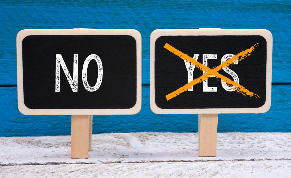 importanza di dire no