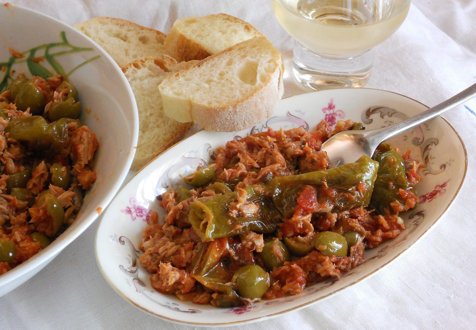 ricetta insalata di friggitelli e tonno