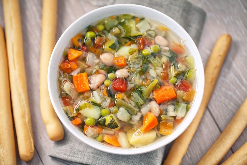 ricetta minestrone con il pesto