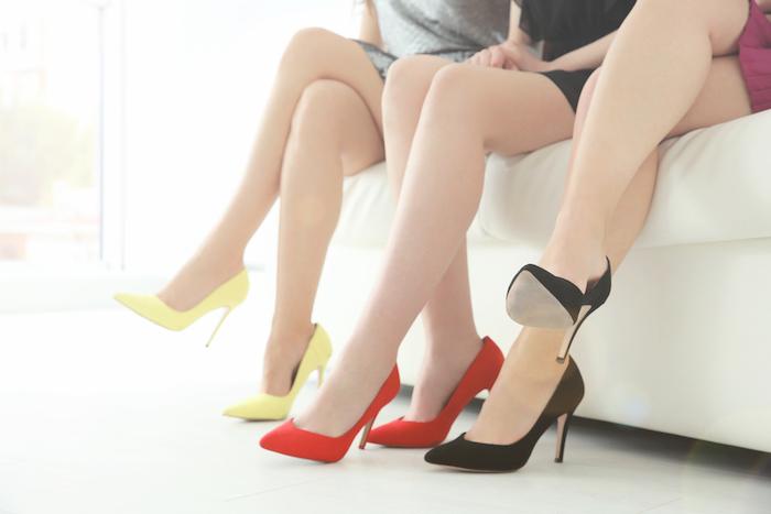 Come indossare i tacchi alti, salvaguardando la salute Non