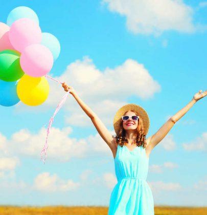 L'augurio più bello per l'anno nuovo? L'allegria. Per affrontare le difficoltà e riscoprire la tranquillità