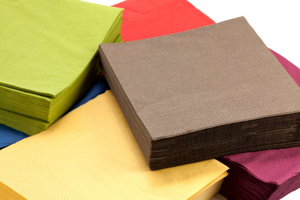come ridurre lo spreco dei tovaglioli di carta