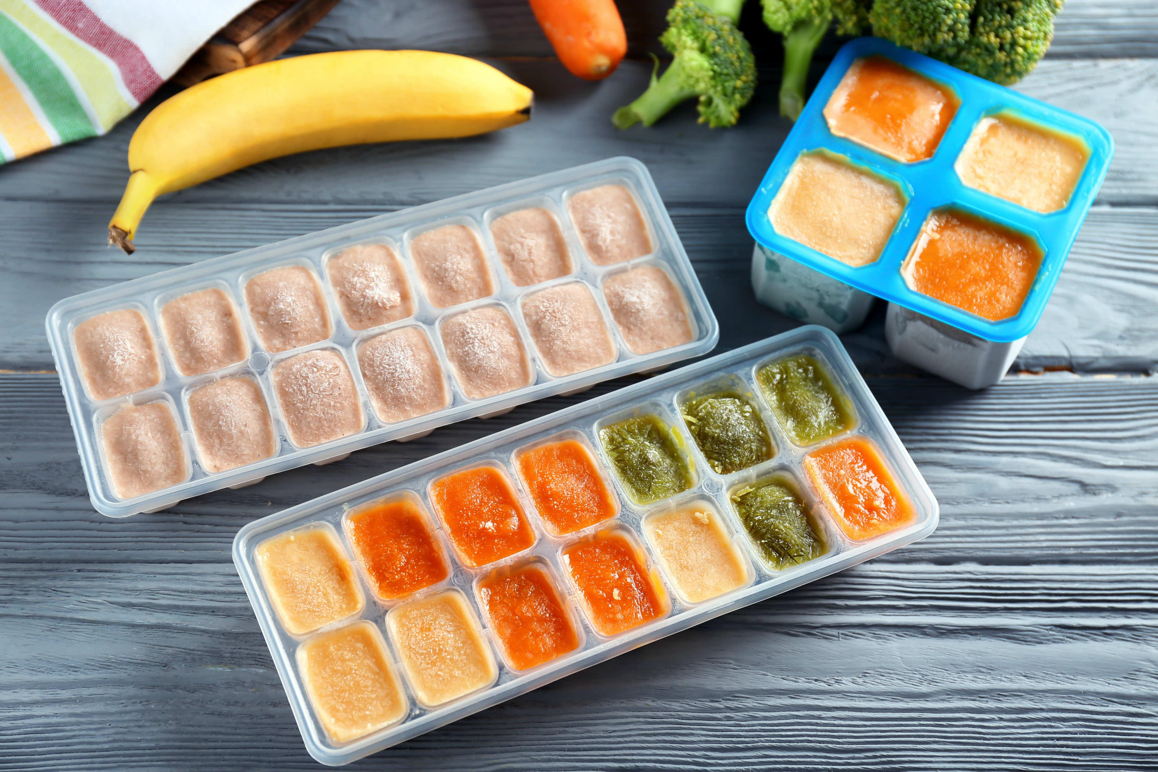 riciclare contenitori cubetti di ghiaccio