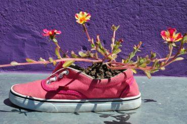 come riciclare le scarpe da ginnastica