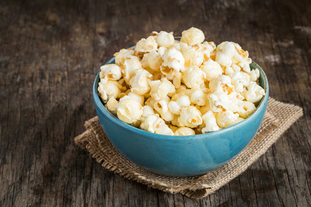 pop corn fatti in casa