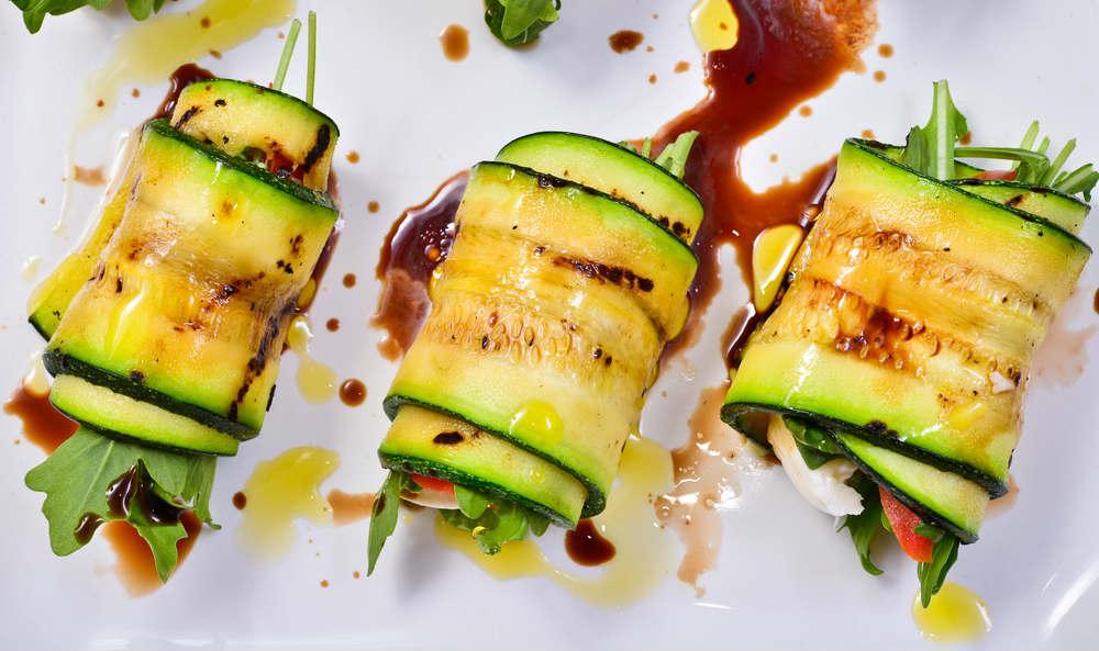 ricetta rotolini di zucchine con ricotta