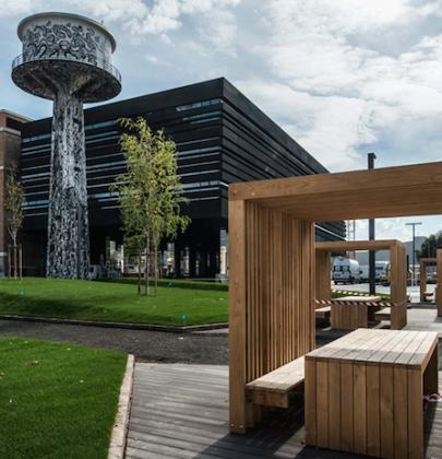 Parco tecnologico NOI, un moderno incubatore di ricerca e sviluppo per aziende green