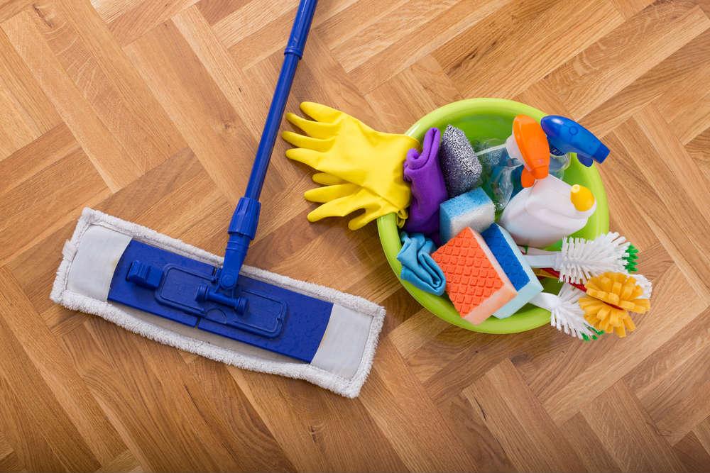 come pulire il parquet