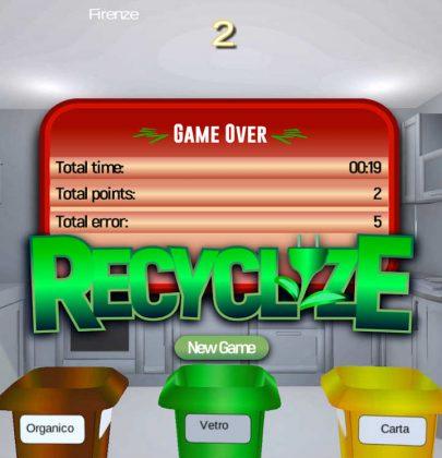 Recyclize, il divertente videogame che insegna ai bambini come fare la raccolta differenziata (foto)
