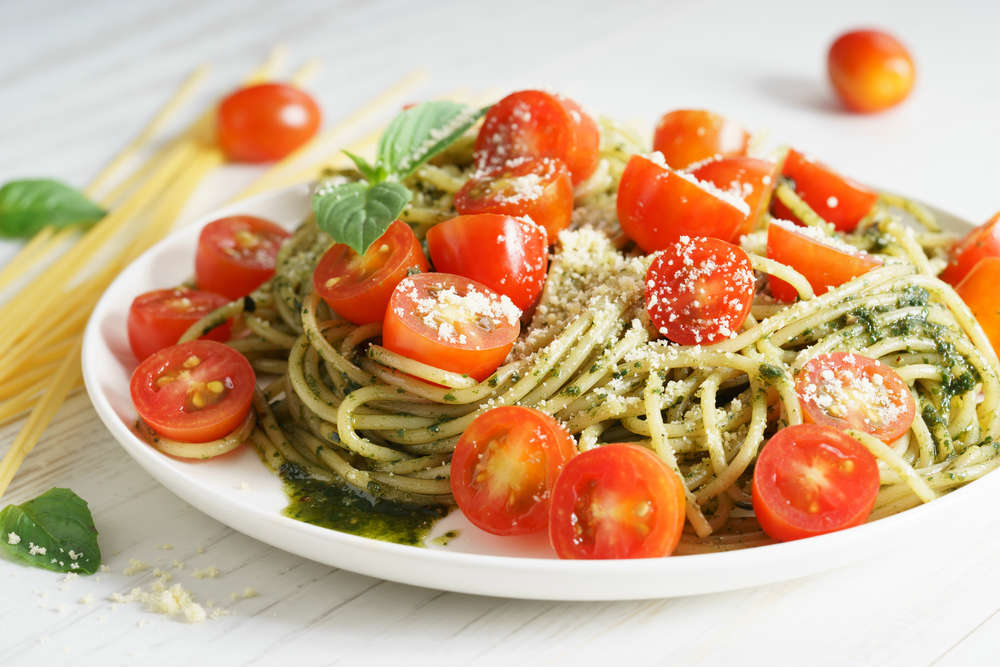 ricetta spaghetti pesto e limone