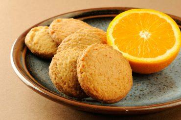 ricetta frollini all'arancia
