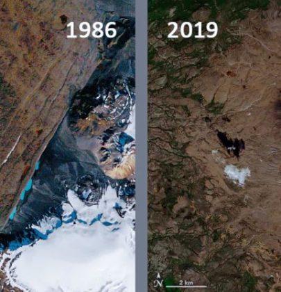 In Islanda la targa per ricordare il ghiacciaio Okjökull, scomparso a causa dei cambiamenti climatici