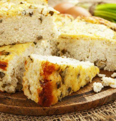 Torta di riso: la ricetta con il tarassaco e lo yogurt da portare in tavola come antipasto