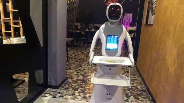 robot al posto dei camerieri