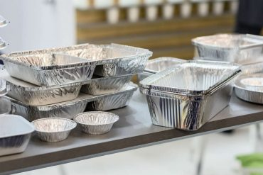 alluminio in cucina