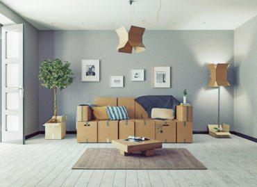 mobili in cartone