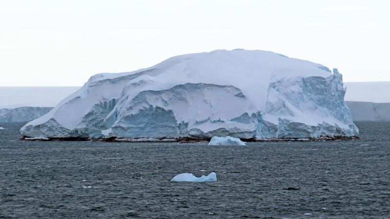 nuova isola in antartide