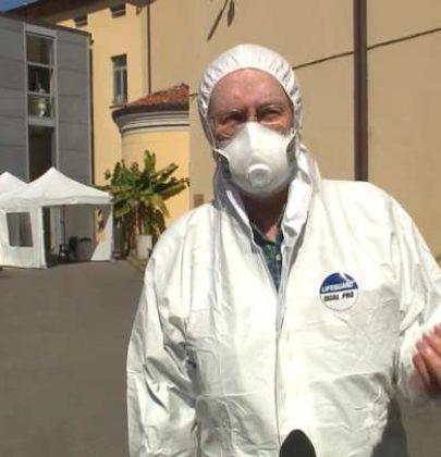"""Luigi Cavanna, medico """"porta a porta"""" per salvare i malati di Covid-19"""
