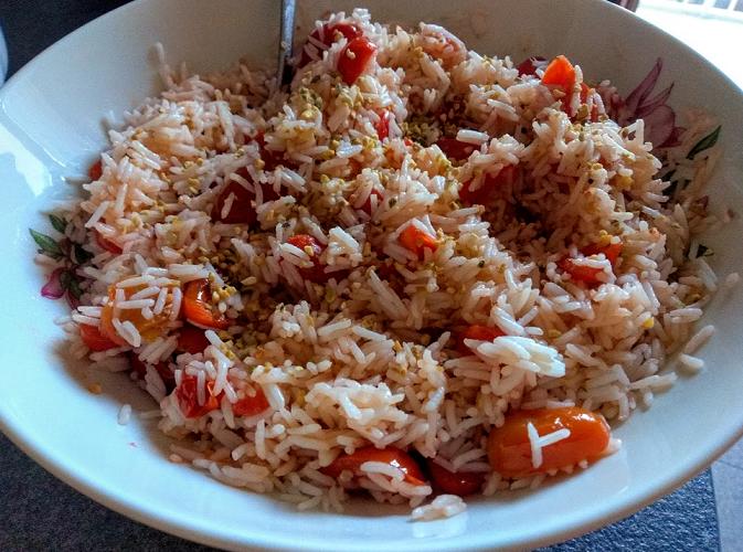 ricetta insalata di riso con pomodorini