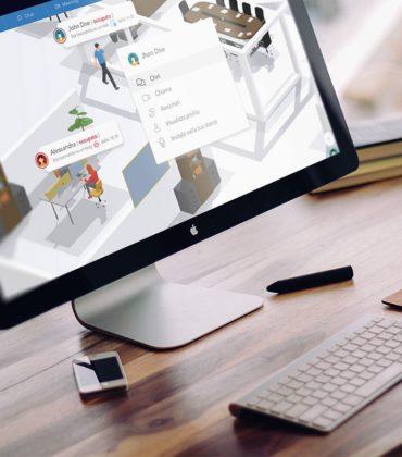 Coderblock, la start up siciliana che organizza il lavoro a distanza. In un unico ambiente 3D
