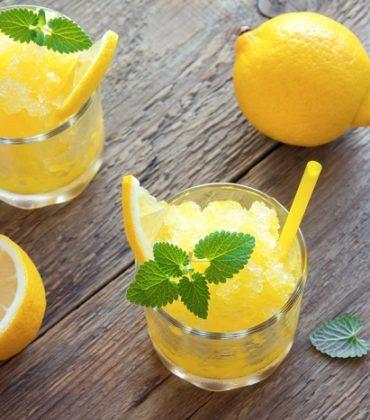 Granite fatte in casa, le migliori ricette. Al limone e all'anguria