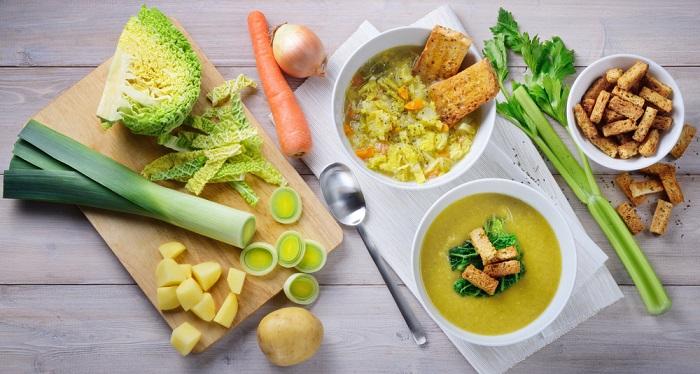 ricetta zuppa di verza