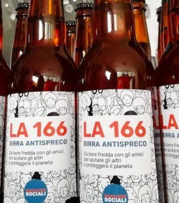 """La 166: a Potenza dagli scarti nasce la birra antispreco """"buona come il pane"""""""